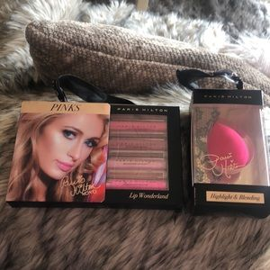 Paris Hilton Makeup Bundle! Beauty Blender + Gloss